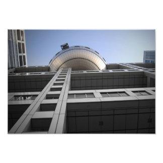 Fuji Building Photo Print