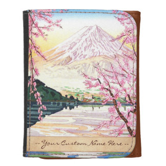 Fuji del hanga Japón de la espinilla de Kawaguchi