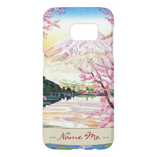 Fuji from Kawaguchi Okada Koichi shin hanga japan Samsung Galaxy S7 Case