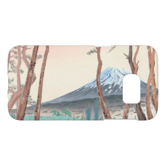 Fuji from the Pine Forest at Harajiku japanese art Samsung Galaxy S7 Case