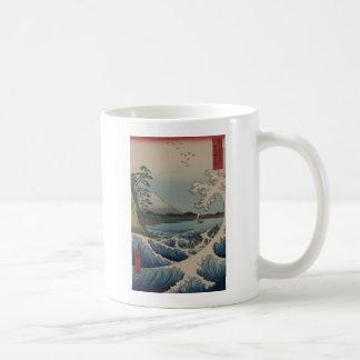 Fuji from the Sea off Satta Coffee Mug