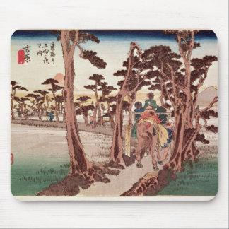 Fuji from Yoshiwara Mouse Pad