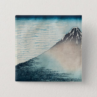 Fuji in Clear Weather' Pinback Button