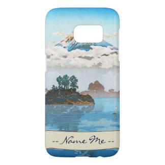 Fuji in clouds,  Koushu Lake Kawaguchi Japan Samsung Galaxy S7 Case