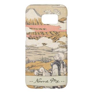 Fuji-mi Saigyo isoda koryusai mountain vintage art Samsung Galaxy S7 Case