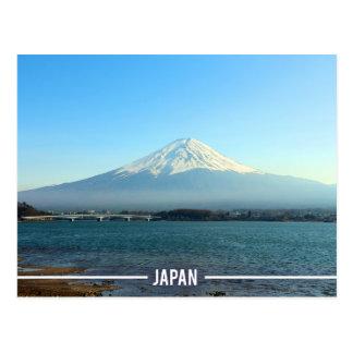 Fuji Mountain, Kawaguchi - The Five Lakes, Japan Postcard