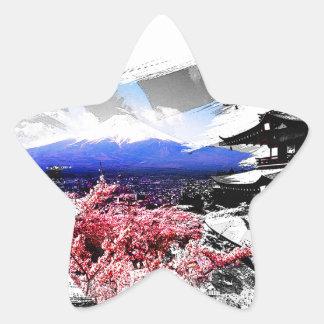 Fuji Mountain Stickers