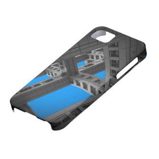 Fuji que construye maneras enteras iPhone 5 funda