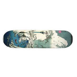 Fuji River Winter 1830 Skate Deck