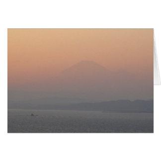 Fuji-san-blank Card