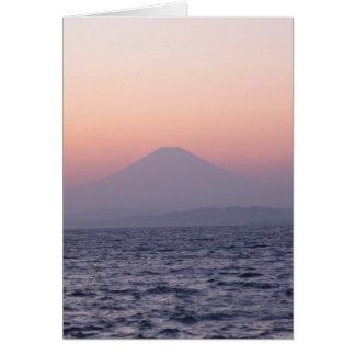Fuji-san-sunset-NY-akemashita Card