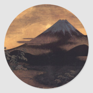 Fuji Tagonoura Classic Round Sticker
