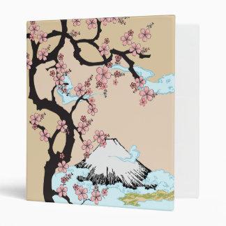 """Fuji y carpeta 1,0"""" de Sakura tamaño del anillo"""