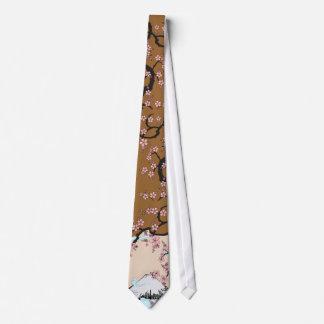 Fuji y Sakura Corbatas Personalizadas
