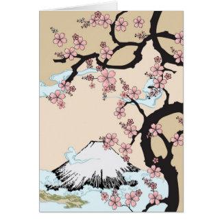Fuji y tarjeta de Sakura