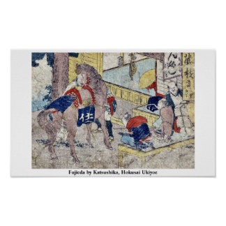 Fujieda by Katsushika, Hokusai Ukiyoe Posters