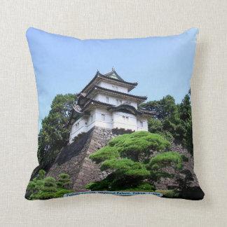 Fujimi-yagura, Imperial Palace, Tokyo, Japan Pillow