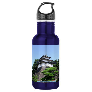 Fujimi-yagura, Imperial Palace, Tokyo, Japan Stainless Steel Water Bottle