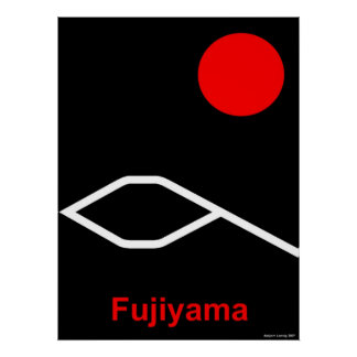 Fujiyama Poster