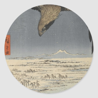 Fukagawa Susaki and Jūmantsubo Classic Round Sticker