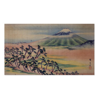 Fūkeiga - Ando Hiroshige Business Card