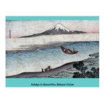 Fukeiga by Katsushika, Hokusai Ukiyoe Post Card