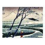 Fukeiga by Katsushika, Hokusai Ukiyoe Post Cards