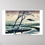 Fukeiga by Katsushika, Hokusai Ukiyoe Posters