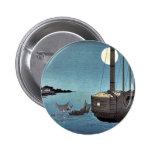 Fukeiga por Ando, Hiroshige Ukiyoe Pins