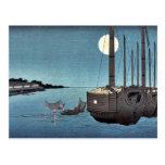 Fukeiga por Ando, Hiroshige Ukiyoe Postales