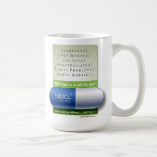 fukitol blue coffee mug