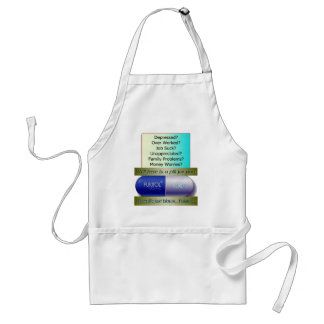 Fukitol, job sucks, over worked, no worries, adult apron