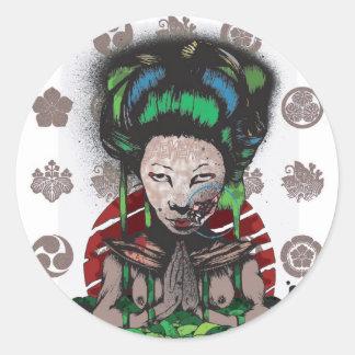 Fuku Classic Round Sticker