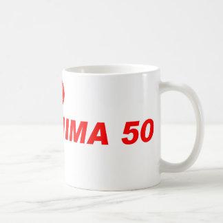 FUKUSHIMA50 ruegan para Japón Taza Clásica