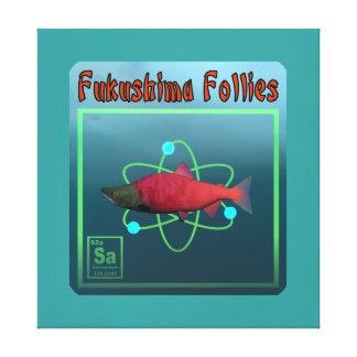 Fukushima Follies Canvas Print