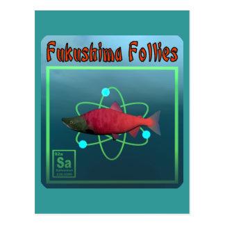 Fukushima Follies Postcard