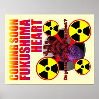 Fukushima heart poster