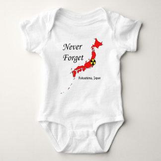 Fukushima, Japan Nuclear Disaster Baby Bodysuit