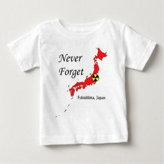 Fukushima, Japan Nuclear Disaster Baby T-Shirt