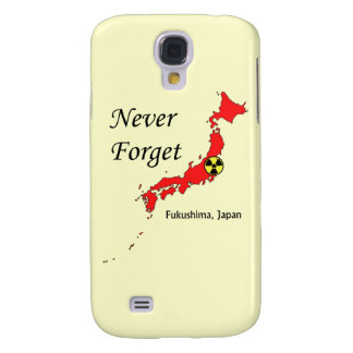 Fukushima Japan Nuclear Disaster Samsung Galaxy S4 Covers
