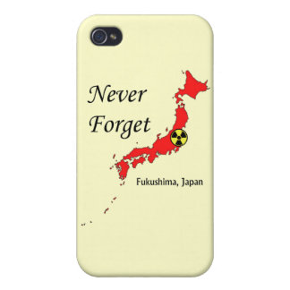 Fukushima Japan Nuclear Disaster iPhone 4 Cover