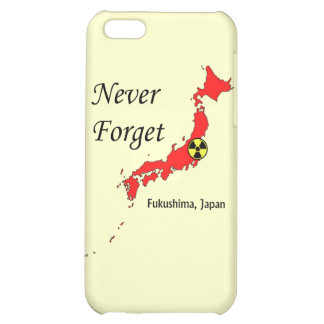Fukushima Japan Nuclear Disaster iPhone 5C Case