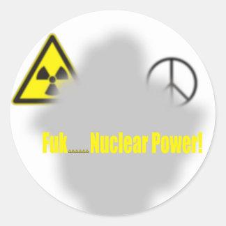 Fukushima Lesson Stickers