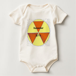 Fukushima Nuclear Disaster Baby Bodysuit