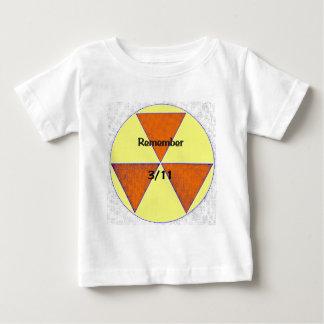 Fukushima Nuclear Disaster Baby T-Shirt