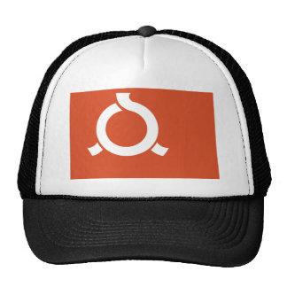 Fukushima Prefecture Flag Hats