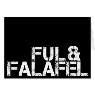 Ful & Falafel Card