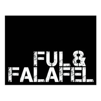 Ful y Falafel Postal