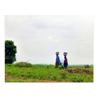 Fulani Woman in the Countryside Postcard