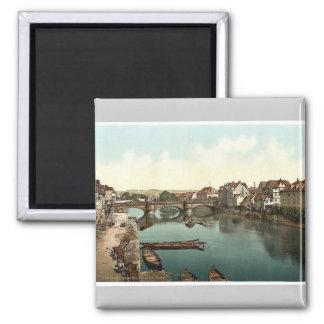 Fulda Bridge, Cassel (i.e., Kassel), Hesse-Nassau, Magnets